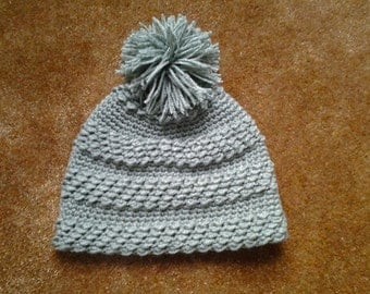 Winter Blast Hat / Woman's Winter Hat with Pompom