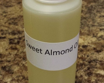 Sweet Almond Oil 8 oz.