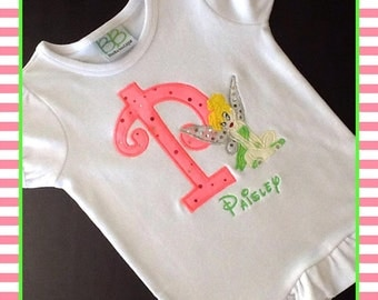 Tinkerbell Personalized T-shirt