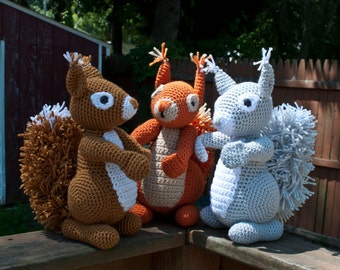 Squirrels!!  Red, Gray or Brown