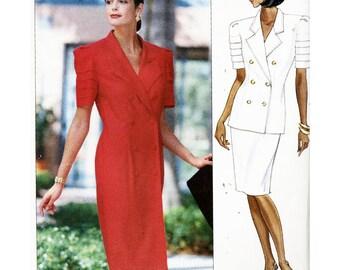 Butterick Sewing Pattern 4700 Misses' Dress, Top, Skirt  Size:  8-10-12  Uncut