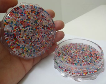 The original herb grinder with real candy sprinkles