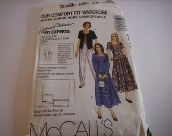 McCall's Palmer Pletsch Pattern # 6048 , dress , shirt, pants  Size 22 -24 extra large
