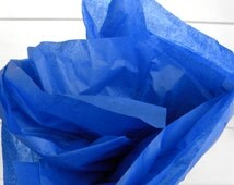 24 Sheets Blue Tissue Paper, Gift Tissue, Gift Paper, Gift Wrap, Packing Paper, 20 x 26 in. / 50.8 x 66 cm