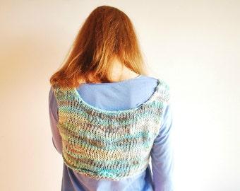 Tank / Bamboo Yarn / Knitting Top / Organic Wool