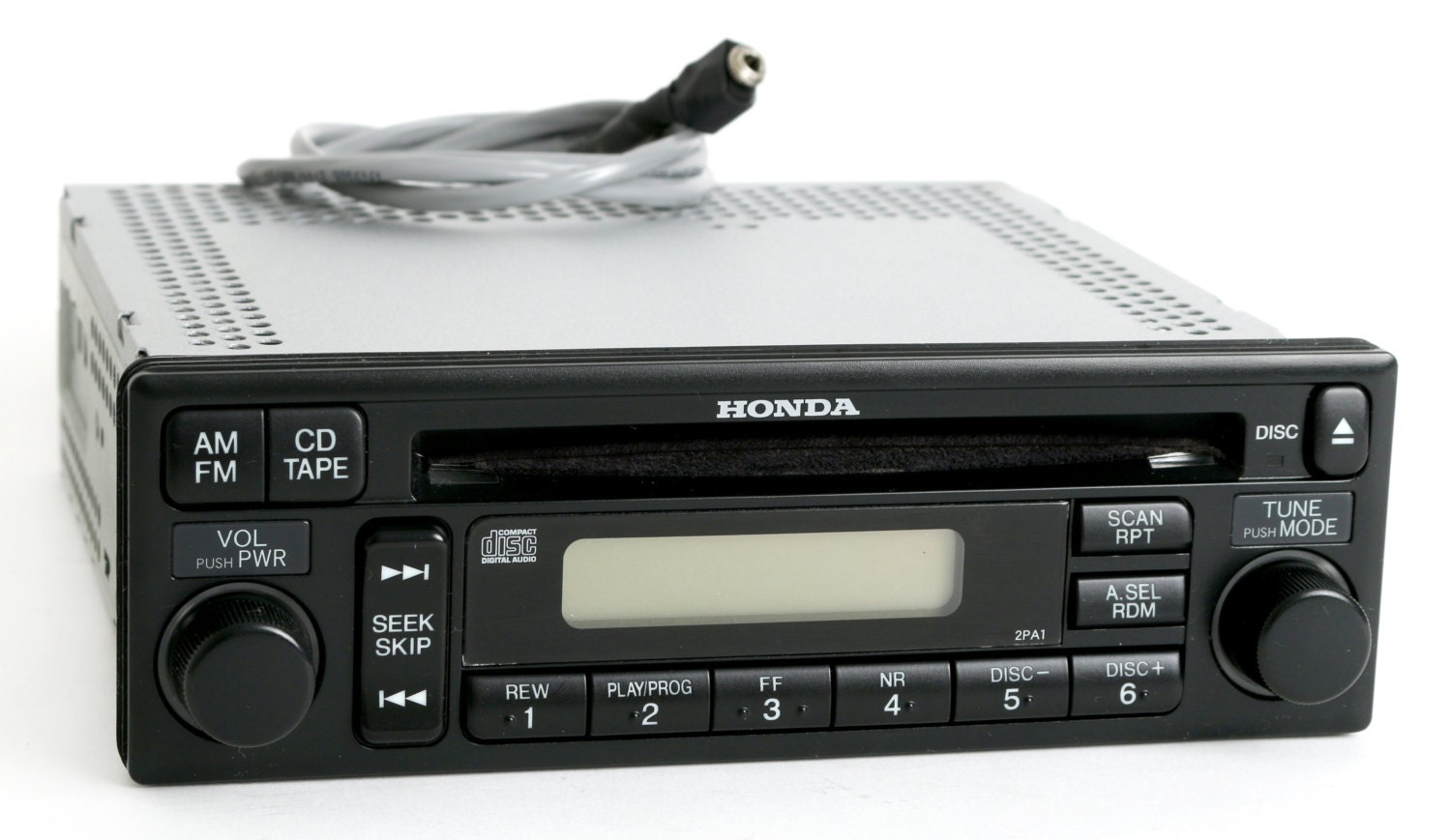 Honda Accord 2001 2002 Radio Am Fm Cd Player Upgraded W