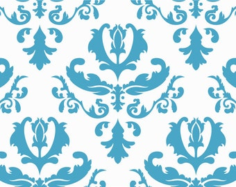 Damask Wall Stencil - Classic Damask Pattern - Stencil For Decorating Walls