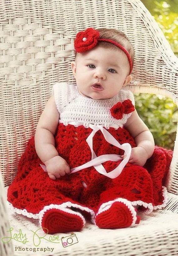 vintage style baby dress