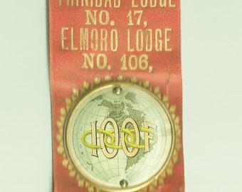 Vintage 1897 IOOF Souvenir Trinidad Colorado-me1817008