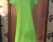 Lime green Adult sized dress