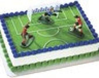 soccer cake kit
