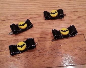 Batty hair clips
