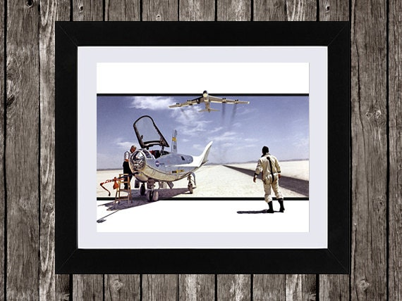 "NASA Aviation Art, Instant Download, Concept Aircraft, Spaceflight, Pilot Print, Aeroplane Print, Boy's Wall Art, Wall Art, 8 x 10"""
