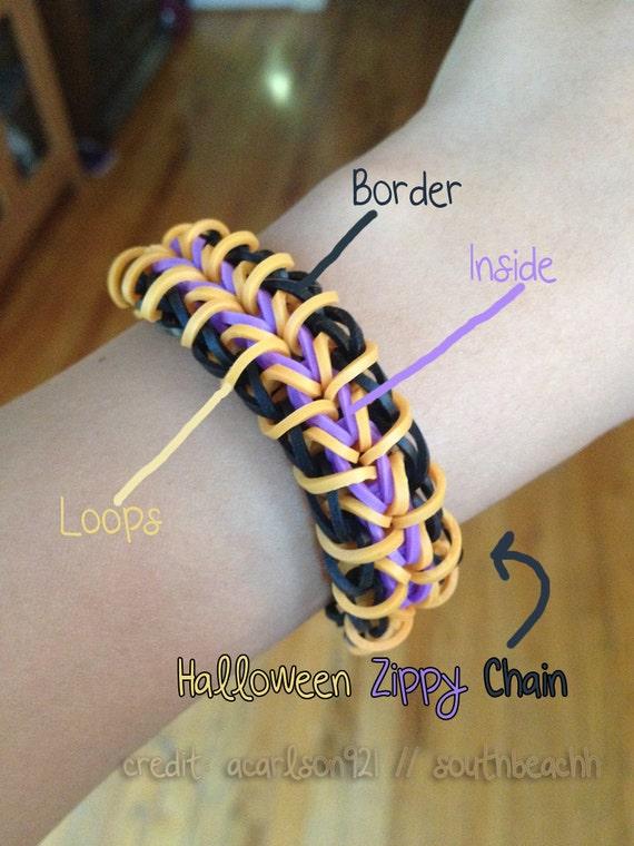 Zippy chain bracelet