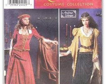 Simplicity 9246 Misses' Renaissance Costume Pattern, 4-10