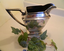 Vintage Pairpoint Sheffield Chrome Pitcher