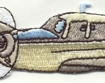 PLANE Cessna Single Engine Airplane  Iron On or Sew On Patch