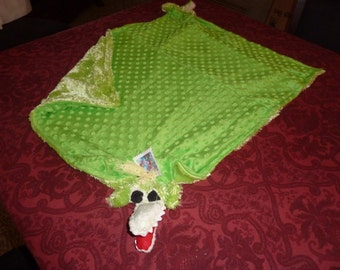 Alligator Baby Woobie Security Blanket