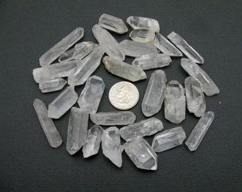 5 Crystal Quartz Points RK1-BK2-01