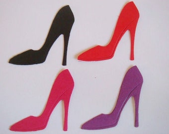 20 Gorgeous stunning ladies High Heel die cuts for cards/toppers cardmaking scrapbooking