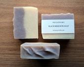 Black Mission Fig Soap Bar // Clay Cold Process Soap // Luxury Bath Soap // Vegan Soap