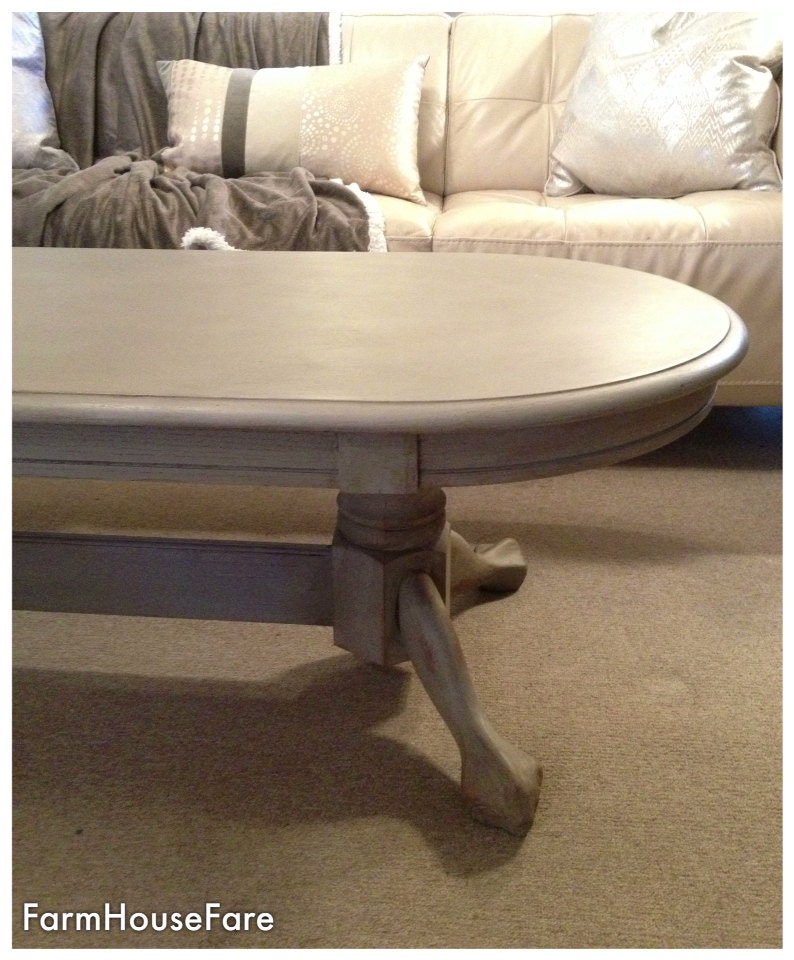French Linen Chalk Paint Coffee Table: French Provincial Coffee Table Chalk Paint French Linen
