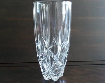 Tall Vintage Crystal Vase