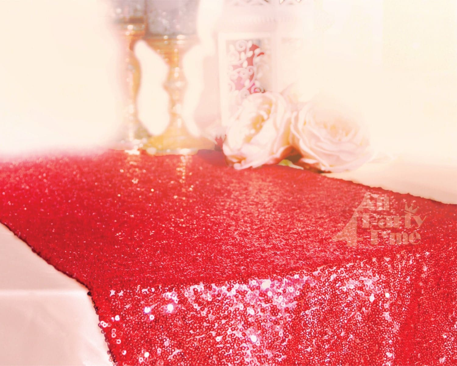 Valentines day sequin red table runner sparkly sequin runner for Table 52 valentine s day