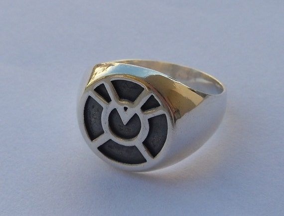 Agent Orange Avarice Lantern Corps Green Lantern Ring