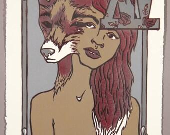 Temperance: Tarot Card Print