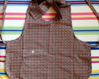 Two versions for summer: bare back or cotton apron by Lililamaloulou