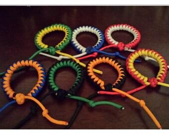 Snake Knot Adjustable Paracord Bracelet