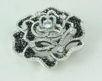 Jewelry Broach, crystal broach, Brooch in Handmade