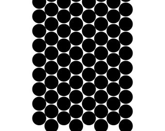 96 vinyl dots-Choice of Size and Color