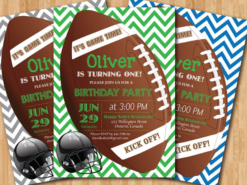 football birthday invitation. boy st first birthday by arthomer, Birthday invitations
