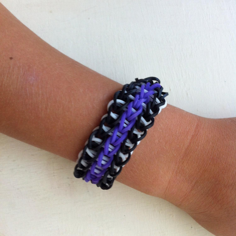 triple single rainbow loom bracelet triple single bracelet