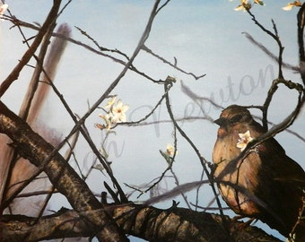In the Branches Giclee Art Print