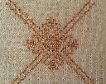 gold mat