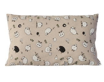 Little sheep Cushion. Insert included.