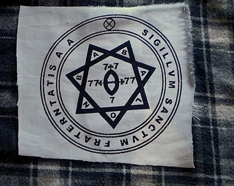patch Babalon seal thelema crowley magick esoterism occultism mysticism