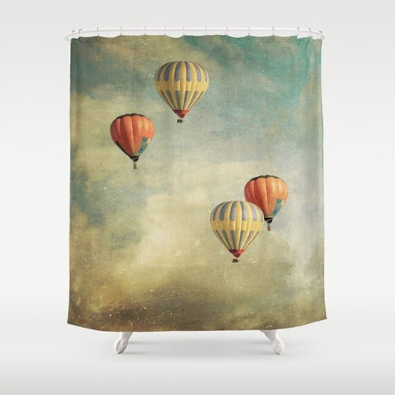 Tan And Grey Curtains Wreath Shower Curtain