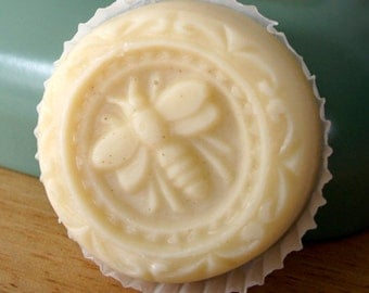 Lavender - handmade, natural, solid lotion with beeswax.
