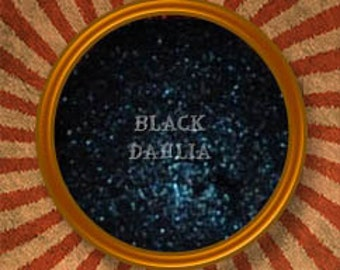 The Black Dahlia- Mineral Eye Shadow/Eye Liner - Handmade in the USA