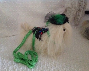 Small Dog Harness & Leash