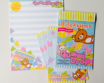 Set paper + envelopes Rilakkuma