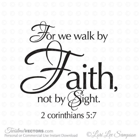 Faith wall decals