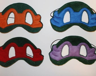 Ninja Turtle Mask Set