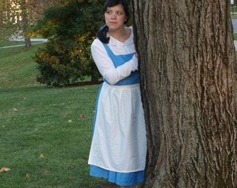 Belle's Blue Provincial Dress