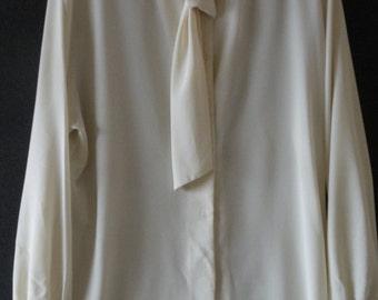 Vintage Pendleton® Ivory blouse
