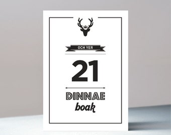 Och yer 21 - Scottish birthday greetings card